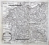 germania map 1686